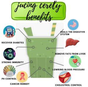Juicing celery benefits