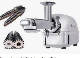 single Vs twin gear types of juicers