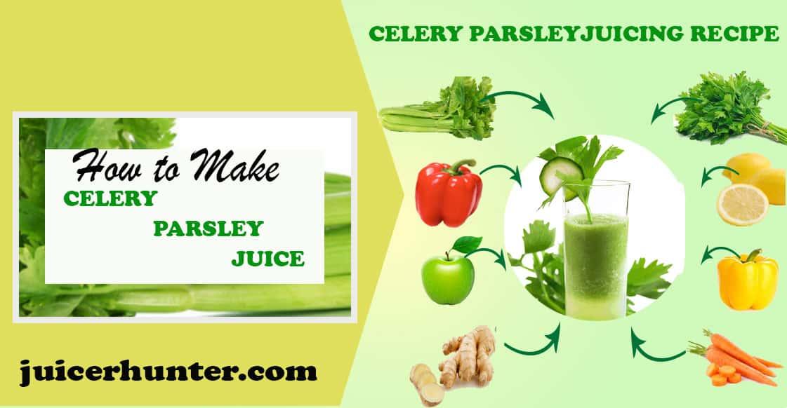 Celery parsley recipe