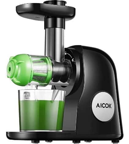 Aicok masticating juicer