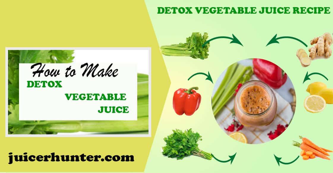 Detox Vegetable recipe