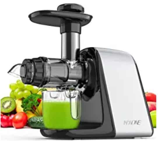 NXONE Slow Masticating  best low priced juicer