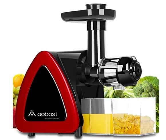 Aobosi Slow Masticating best cold press juicer