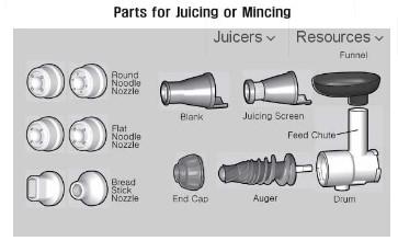 mincing parts 8006